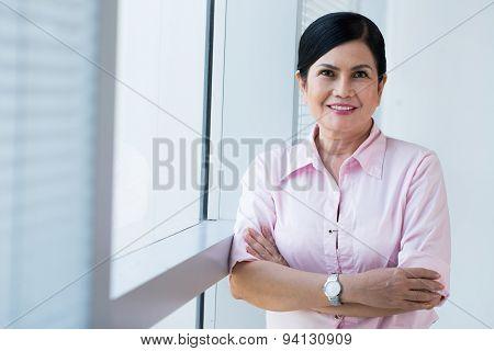 Mature Vietnamese Businesswoman