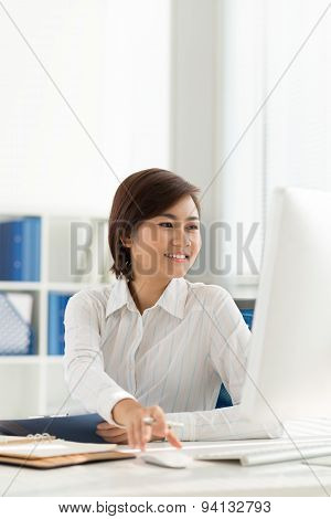 Vietnamese Office Worker