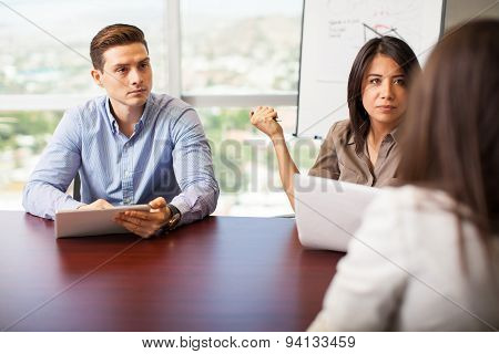 Interviewing A Job Candidate