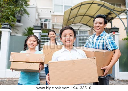 Moving Out Of The House