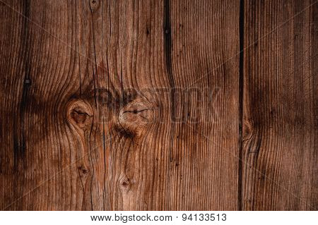 Old Wood Texture Used As Background