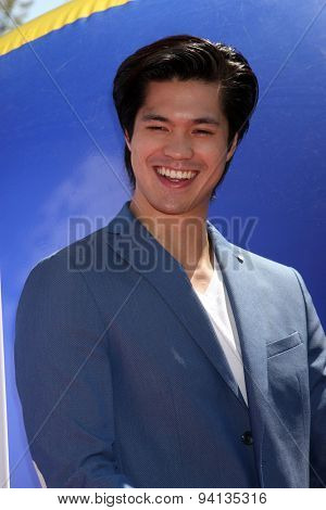 LOS ANGELES - JUN 22:  Ross Butler at the