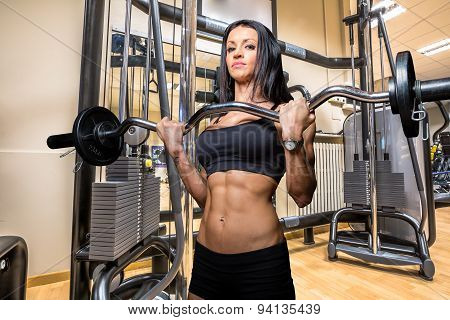 Bodybuilder Woman