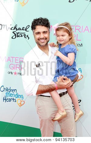 LOS ANGELES - JUN 14:  Jaime Camil at the Children Mending Heart's 7th Annual Empathy Rocks Fundraiser at the Private Location on June 14, 2015 in Malibu, CA