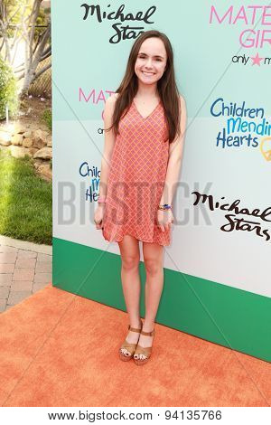 LOS ANGELES - JUN 14:  Ava Cardoso-Smith at the Children Mending Heart's 7th Annual Empathy Rocks Fundraiser at the Private Location on June 14, 2015 in Malibu, CA
