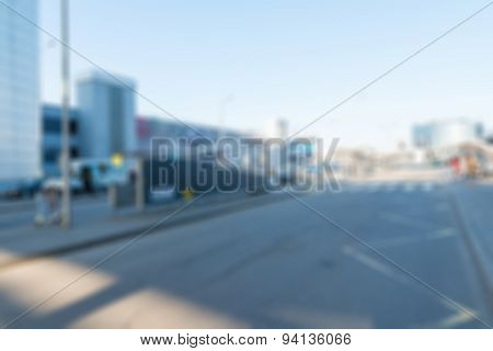 Modern airport abstract background