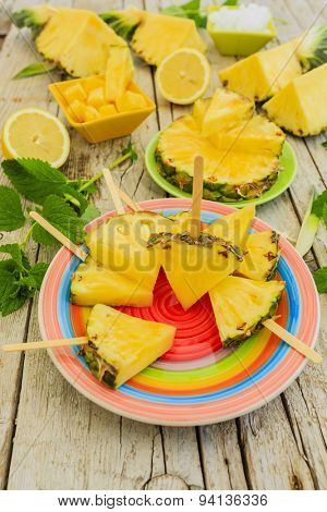 Pineapple - delights with pineapple