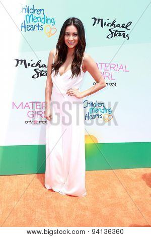 LOS ANGELES - JUN 14:  Shay Mitchell at the Children Mending Heart's 7th Annual Empathy Rocks Fundraiser at the Private Location on June 14, 2015 in Malibu, CA