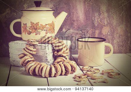 Vintage Tea Composition