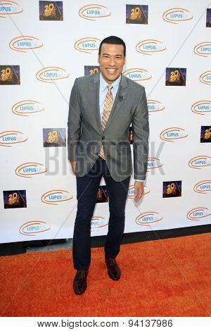 LOS ANGELES - JUN 6:  Michael Yo at the Lupus LA Orange Ball  at the Fox Studios on June 6, 2015 in Century City, CA