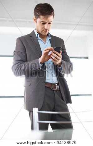 Worried office worker