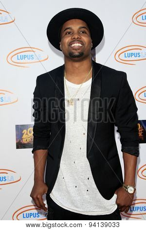 LOS ANGELES - JUN 6:  Steelo Brim at the Lupus LA Orange Ball  at the Fox Studios on June 6, 2015 in Century City, CA