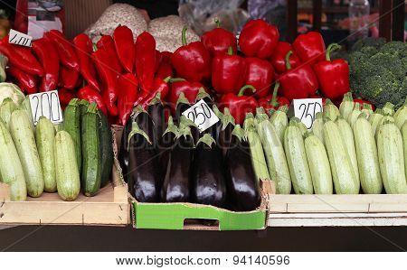 Market Stall Fresh