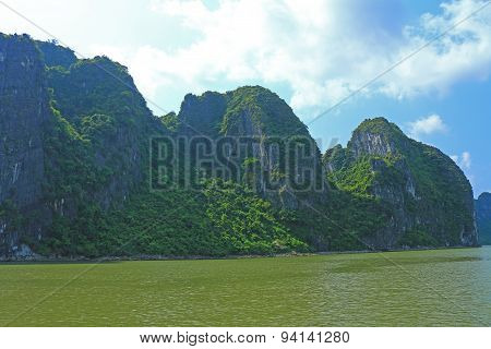 Cat Ba Islands And Rock Formations Vietnam