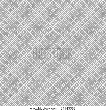 Gray And White Square Geometric Repeat Pattern Background