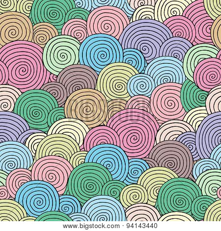 Abstract  Bright Seamless Pattern