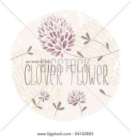 Clover Flower Circle