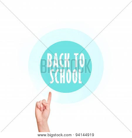 Back To School Vitual Screen Button