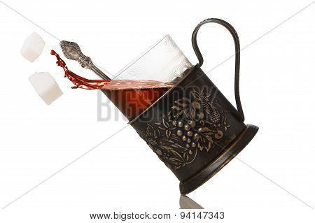 Tea In Glassholder (podstakannik)