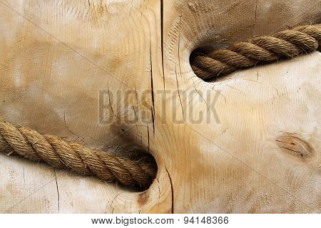 Wood And Rope