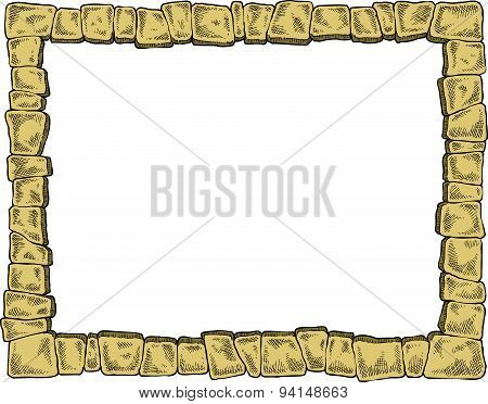 Frame With Stones