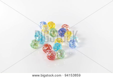 Coloured Marbles