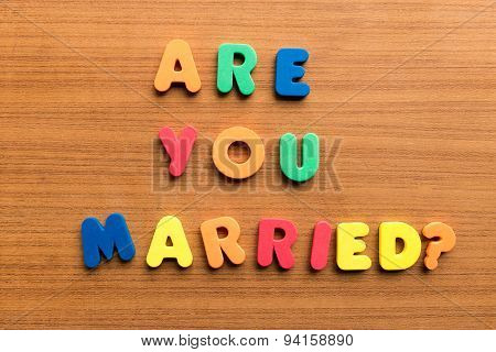 Are You Married