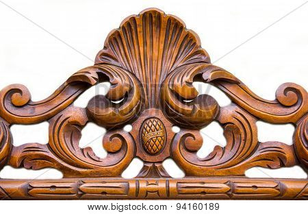 Ornament carved in wood