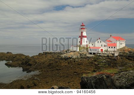 East Quoddy Head Light - Low Tide