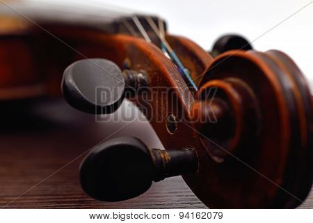 Old Violin Head