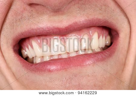 Male Mouth Laughing