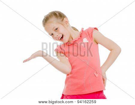 Girl children laughing