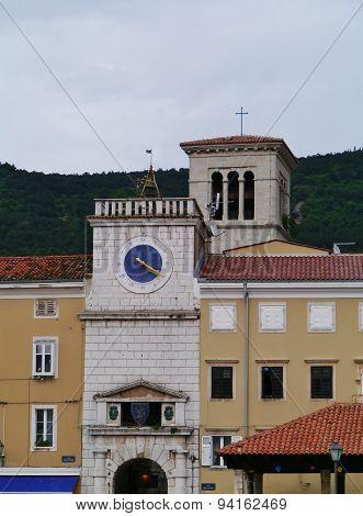 Historic Croatian city Cres