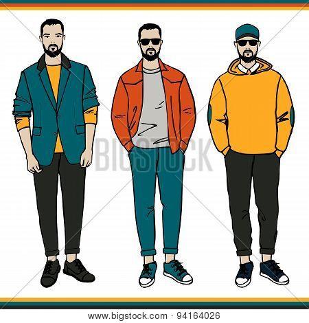 Vector Fashion men