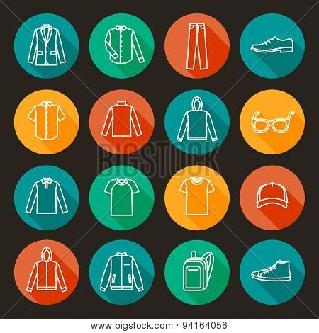 Men's Clothing icons
