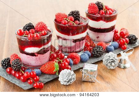 dessert of the dinner party