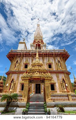 Wat Chalong Or Wat Chaitaram Temple