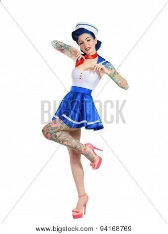 sailor salutes