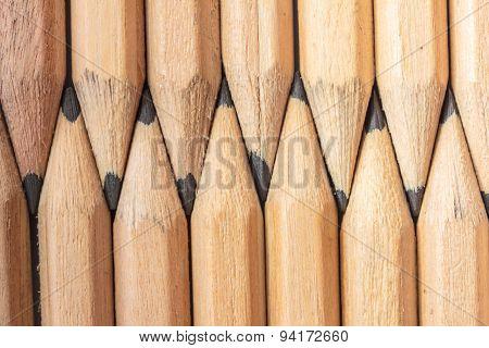 pencils background texture closeup
