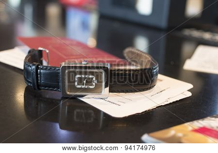 Boarding Pass And Watch