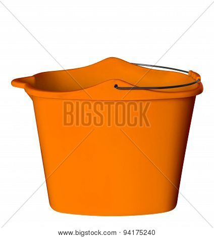 Plastic Bucket - Orange