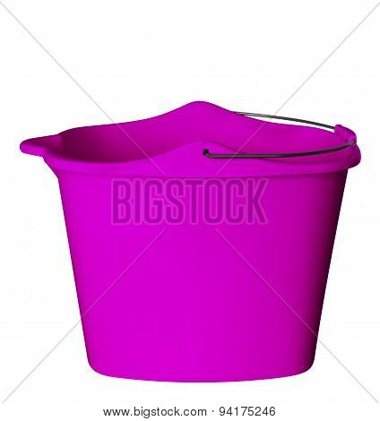 Plastic Bucket - Rose