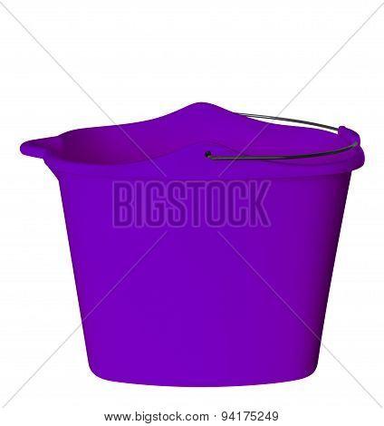 Plastic Bucket - Violet