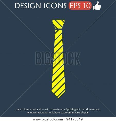 Simple Icon Tie.