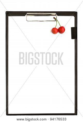 Tlipboard With Berries