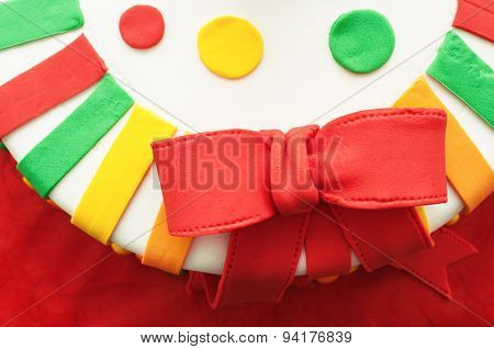 Ribbon On Birthday Cake