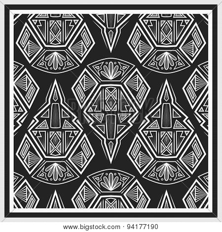 Bandana Design With Geometrical Elements