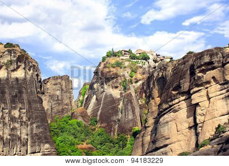 Monastery of Barlaam from Meteora, Greece