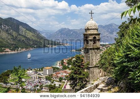 Church Of Our Leady Of Remedy In Kotor.montenegro