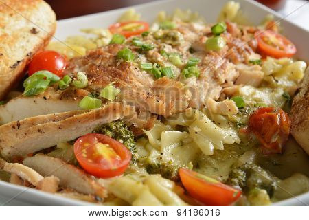 Cajun Chicken Pasta Dish